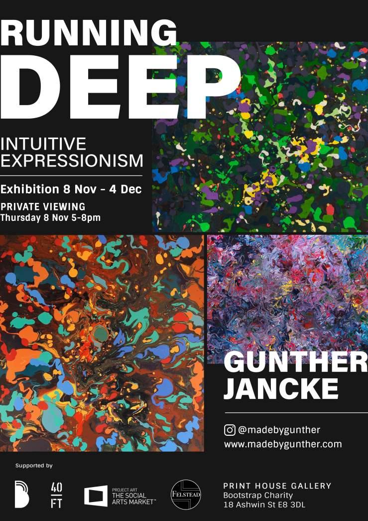 Running Deep Exhibition_Gunther
